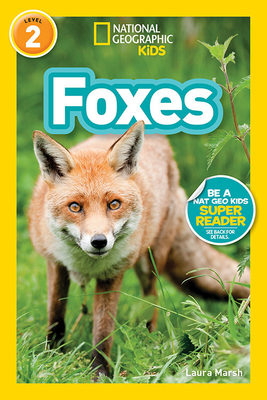 National Geographic Readers: Foxes (L2) Cover Image