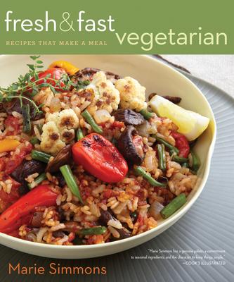 Fresh & Fast Vegetarian Cover
