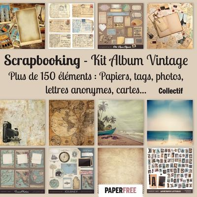 Scrapbooking Kit album vintage Cover Image