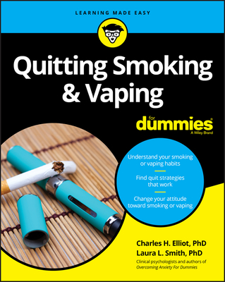 Quitting Smoking & Vaping for Dummies Cover Image