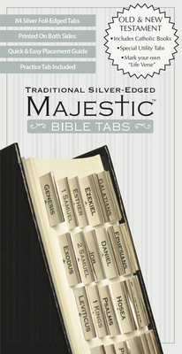 Majestic Traditional Silver-Edged Bible Tabs Cover Image