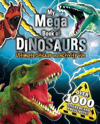 My Mega Book of Dinosaurs Cover Image