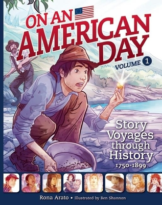 On an American Day, Volume 1 Cover