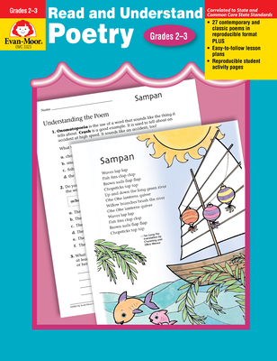 Read & Understand Poetry Grades 2-3 (Read & Understand: Poetry) Cover Image