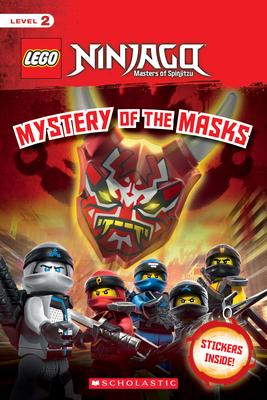 Mystery of the Masks (LEGO Ninjago: Reader) Cover Image