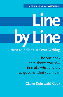 Line by Line: How to Edit Your Own Writing Cover Image