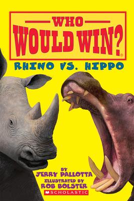 Rhino vs. Hippo (Who Would Win?) Cover Image