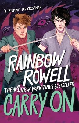 Carry On: Bookshelf Edition (Simon Snow Trilogy #1) Cover Image