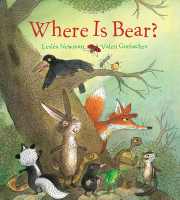Where Is Bear? (padded board book) Cover Image