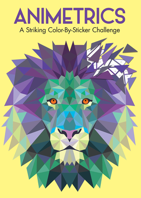 Animetrics: A Striking Color-By-Sticker Challenge Cover Image