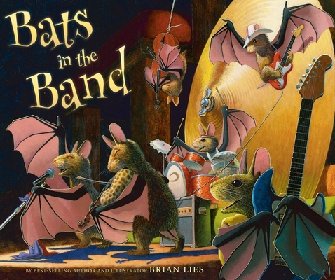 Bats in the Band (A Bat Book) Cover Image