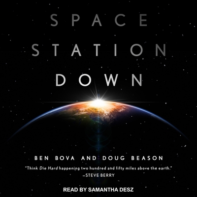 Space Station Down Lib/E Cover Image