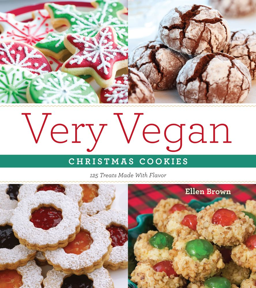 Very Vegan Christmas Cookies Cover