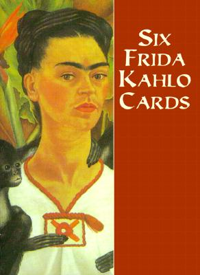 Six Frida Kahlo Cards (Dover Postcards) Cover Image