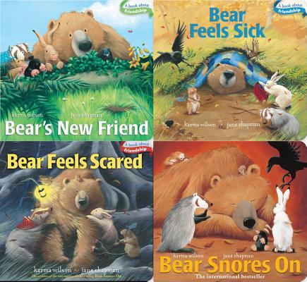 Bear Board Book 4-pack Cover