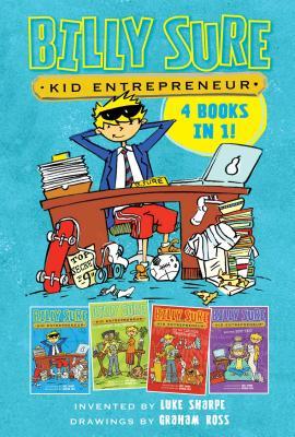 Cover for Billy Sure Kid Entrepreneur 4 Books in 1!