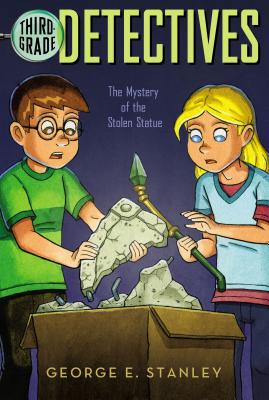 The Mystery of the Stolen Statue (Third-Grade Detectives #10) Cover Image