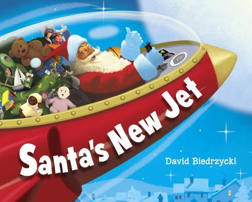 Santa's New Jet Cover