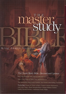 KJV Master Study Bible (Black Bonded Leather) Cover