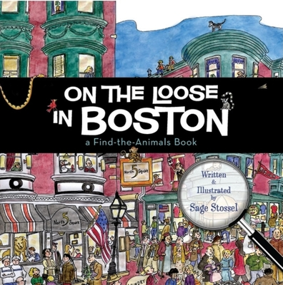 Cover for On the Loose in Boston