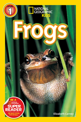 National Geographic Readers: Frogs! Cover Image