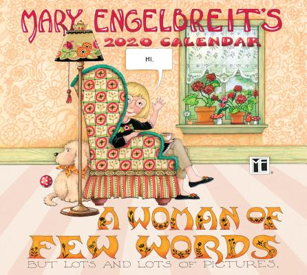 Mary Engelbreit 2020 Deluxe Wall Calendar: A Woman of Few Words Cover Image
