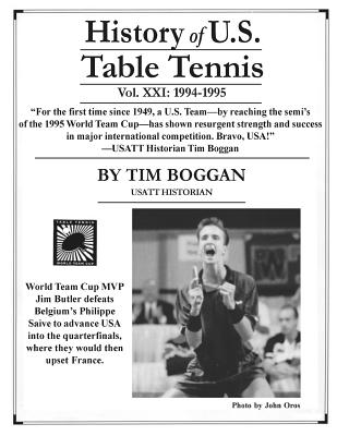 History of U.S. Table Tennis, Volume 21 Cover Image
