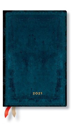 Paperblanks 2021 Calypso Bold Mini 12-Month Cover Image