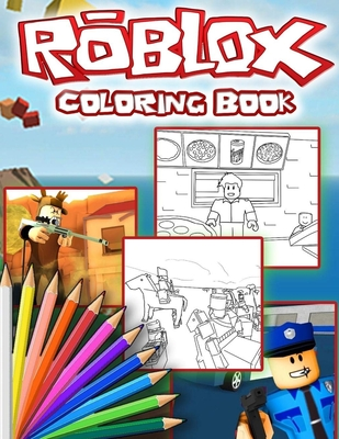 ROBLOX Coloring Book Cover Image