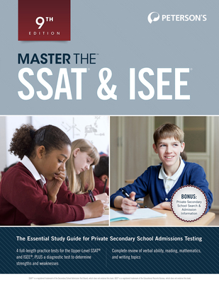 Peterson's Master the SSAT & ISEE Cover Image