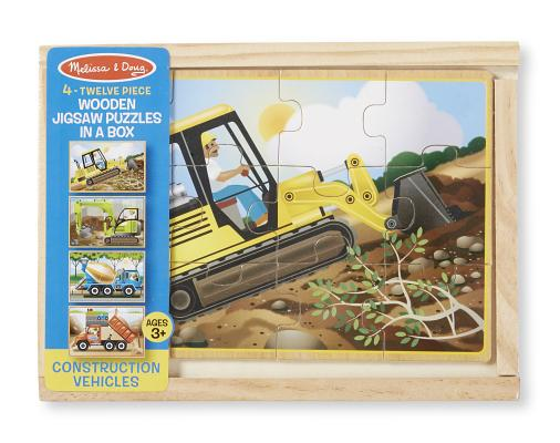 Construction Puzzles in a Box Cover Image