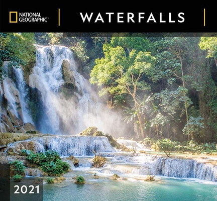 Cal 2021- National Geographic Waterfalls Wall Cover Image