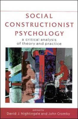 Social Constructionist Psychology Cover
