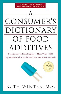 A Consumer's Dictionary of Food Additives Cover
