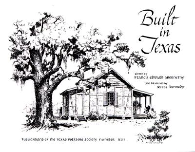 Cover for Built in Texas
