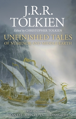 Unfinished Tales Illustrated Edition Cover Image