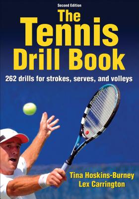The Tennis Drill Book Cover Image