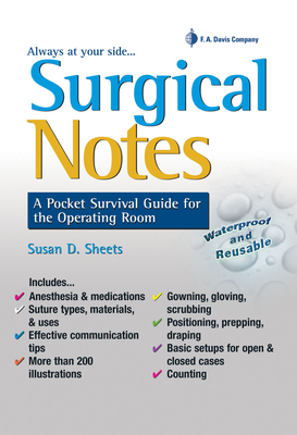 Surgical Notes: A Pocket Survival Guide for the Operating Room (Davis's Notes) Cover Image