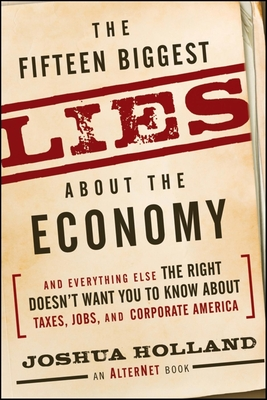 The Fifteen Biggest Lies about the Economy Cover