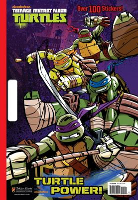 Turtle Power! (Teenage Mutant Ninja Turtles) Cover Image