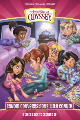 Candid Conversations with Connie, Volume 1: A Girl's Guide to Growing Up (Adventures in Odyssey Books) Cover Image