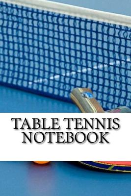 Table Tennis Notebook Cover Image