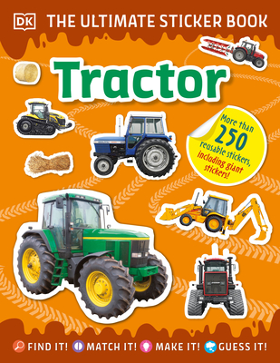 The Ultimate Sticker Book Tractor Cover Image
