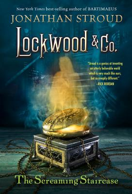 The Screaming Staircase (Lockwood & Co. #1) Cover Image