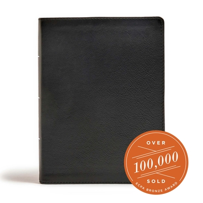 Cover for CSB Tony Evans Study Bible, Black Genuine Leather, Indexed