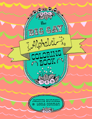 The Big Gay Alphabet Coloring Book (Reach and Teach) Cover Image