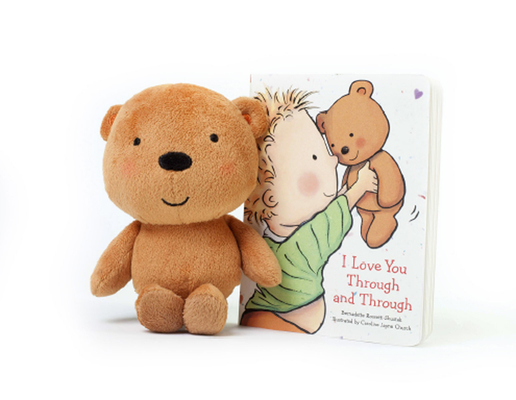 I Love You Through and Through: Board Book and Plush (Caroline Jayne Church) Cover Image