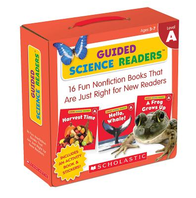 Guided Science Readers: Level A (Parent Pack): 16 Fun Nonfiction Books That Are Just Right for New Readers Cover Image