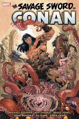 Savage Sword of Conan: The Original Marvel Years Omnibus Vol. 5 Cover Image
