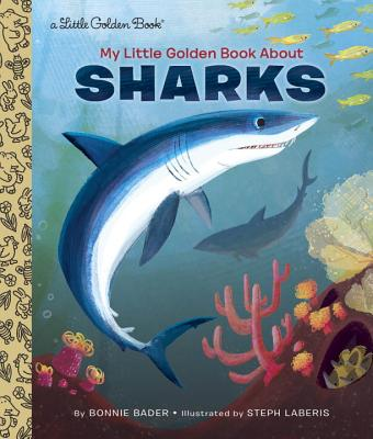 My Little Golden Book About Sharks Cover Image